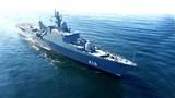 Vũ khí đang được lắp lên tàu chiến Gepard 3.9 Việt Nam