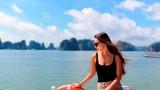 Chùm ảnh: Vịnh Hạ Long tuyệt đẹp trong tiết trời thu