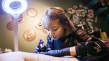 Trắng đêm cùng nữ thợ xăm hotgirl thu nhập hơn 100 triệu/tháng