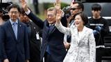 """""""Lời cầu hôn"""" táo bạo của phu nhân với tổng thống Hàn"""