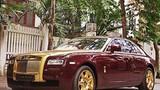 Choáng với Ghost phủ vàng của sếp Rolls-Royce VN