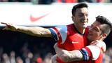 Arsenal thắng đậm Everton 4-1, lọt bán kết Cúp FA