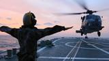Trực thăng Mỹ tìm kiếm máy bay Malaysia mất tích