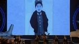 Hình ảnh Kim Jong-un 4 tuổi trên truyền hình Triều Tiên
