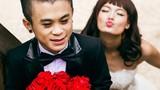 Phát sốt ảnh cưới chàng lùn Xuân Tiến với mẫu Thanh Thảo