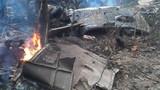Clip trực thăng quân sự rơi ở Hòa Lạc, Hà Nội