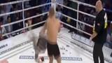"""Cú đá """"thần sầu"""" hạ gục đối thủ của võ sĩ Rumani"""