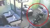 Trộm thản nhiên vào nhà khoắng đồ như chốn không người