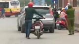 Trấn áp tội phạm tại bến xe trọng điểm HN