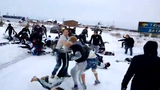 Cổ động viên bóng đá ẩu đả đẫm máu ở Moscow