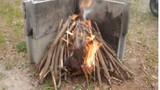 Hiến kế tạo ra lửa khi lạc trên hoang đảo