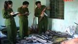 Tận mắt những khẩu súng côn tự chế ở Thanh Hóa
