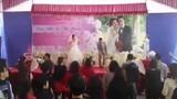 Cô dâu, chú rể nhảy tưng bừng trong đám cưới gây sốt