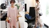 Cận cảnh váy midi khiến giới trẻ Hàn phát sốt