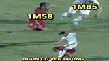 """Ảnh chế bóng đá: Văn Hậu """"nuốt chửng"""" cầu thủ Indonesia"""