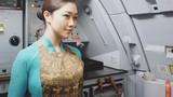 Chết mê với nhan sắc nữ tiếp viên hàng không gây bão mạng