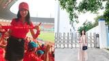 Nữ CĐV Việt Nam từng gây sốt mạng Hàn Quốc khoe bụng bầu 6 tháng