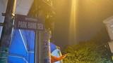 Vừa xuất hiện con đường mang tên HLV Park Hang-seo đã lập tức gây bão