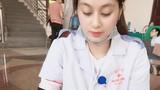 """""""Hôn mê"""" trước nhan sắc nữ y tá xinh đẹp hiến máu nhân đạo"""