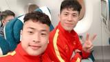 """Đội tuyển U23 Việt Nam khoe ảnh cực """"lầy"""" tại Hàn Quốc"""