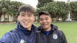 Dàn cầu thủ Việt Nam bảnh trai hội quân sau Tết Nguyên đán