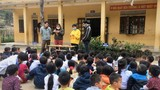 Nghệ An: Học sinh vùng cao thiếu khẩu trang y tế