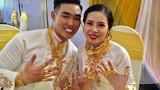 """Chị gái đại gia biến cô dâu thành """"cây đeo vàng"""" trong ngày cưới"""