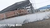Kinh hoàng khoảnh khắc tường rào sập làm 10 người chết ở Đồng Nai