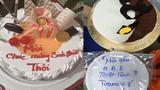 """Nhận bánh sinh nhật, người chủ """"rơi lệ"""" vì lời nhắn chúc mừng"""