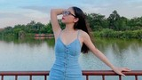 Diện váy như bung cúc, tình cũ Quang Hải mất điểm trong mắt fan
