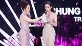 Khán giả chê màn ứng xử ấp úng của Hoa hậu Trần Tiểu Vy