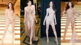 Sao Việt kém sang với trang phục màu nude mặc mà như không mặc