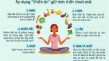 """Áp dụng """"thiền ăn"""" giữ tinh thần thoải mái trong mùa dịch COVID-19"""