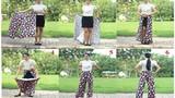Chị em phát sốt với mẫu váy chống nắng siêu độc