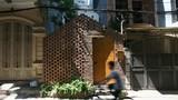 Nhà gạch ở Hào Nam nổi bần bật trên tạp chí kiến trúc ngoại