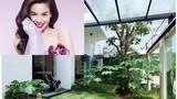 Vườn rau xanh mướt trong biệt thự triệu đô của Hà Hồ
