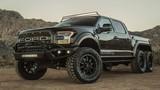 """Hennessey biến Ford F-150 Raptor thành """"quái vật"""" 06 bánh"""