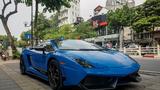 """Siêu xe Lamborghini Gallardo hàng hiếm tại Hà Nội thay """"áo"""" mới"""