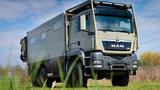 Unicat MD56c MAN TGS 6x6 - nhà di động hơn 35 tỷ đồng