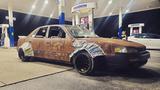 """Toyota Camry phong cách """"đồng nát"""", biển số gắn chắn bùn"""