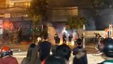 Cháy cơ sở kinh doanh TBYT trong đêm, khói độc bao trùm nhà dân