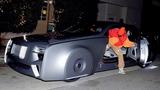 """Justin Bieber cầm lái xe siêu sang Rolls-Royce 103EX """"kịch độc"""""""