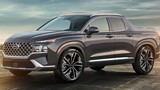 """""""Hàng nóng"""" Hyundai Santa Cruz 2022 lộ diện, ra mắt 15/4/2021"""