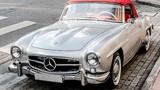 Mercedes-Benz 190SL tại Sài Gòn, xế cổ tiền tỷ hơn 60 năm tuổi