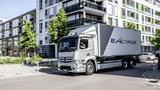 Mercedes eActros - xe tải hạng nặng chạy điện đến từ tương lai