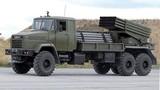 """Ukraine """"độ"""" pháo phản lực BM-21 Grad chống quân ly khai"""
