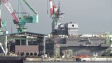 Ảnh mới nhất siêu hạm Izumo thứ hai của Nhật Bản