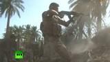 Video giao tranh ác liệt giữa Quân đội Iraq và IS