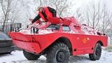 Cận cảnh dịch vụ taxi bằng xe bọc thép ở Nga