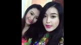 Xôn xao clip Á hậu Huyền My chúc mừng năm mới 2015